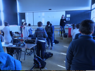 EDUCATION Le collège Karl-Marx de Villejuif (Val-de-Marne) a mis en place des séances de sophrologie