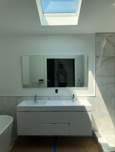 Bathroom reflections