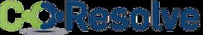CoResolve Logo Generic option both BLUE.