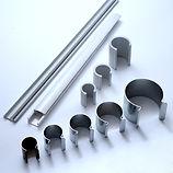 Комплектующие для теплиц: алюминиевые клипсы, хомуты итд