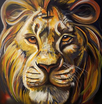 PRINT - Lion