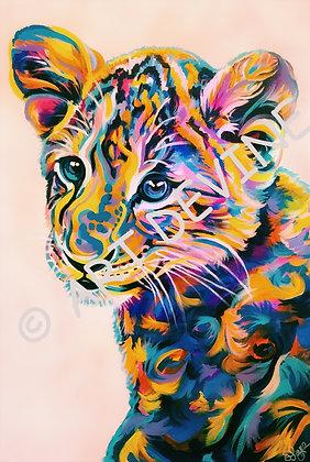 PRINT - Lion Cub