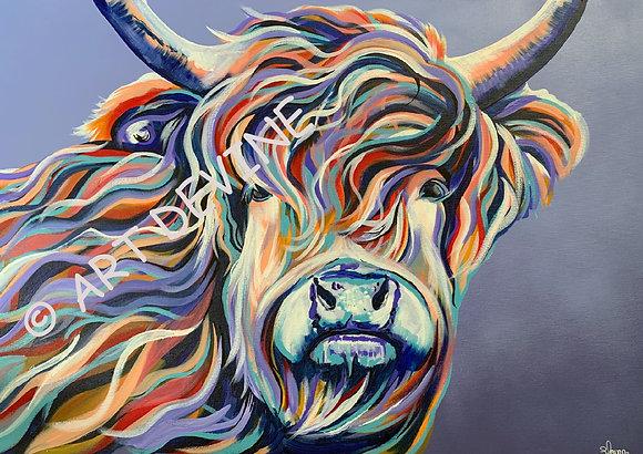 PRINT - Highland Cow