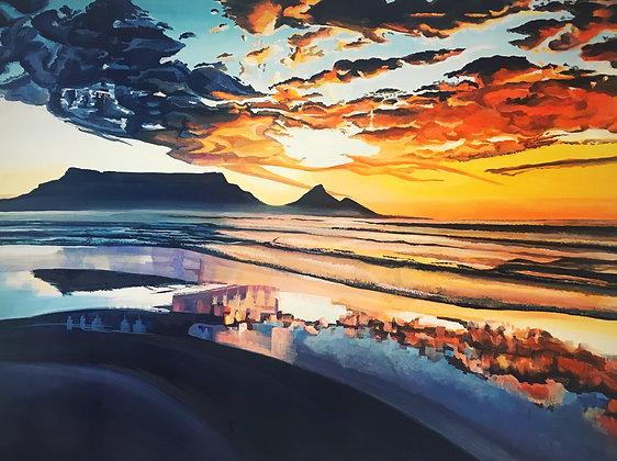 PRINT - Table Mountain