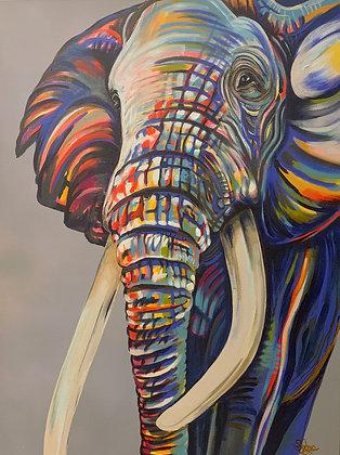 PRINT - Elephant