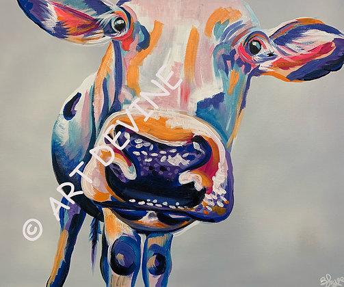 PRINT - Cow (matching Pig)