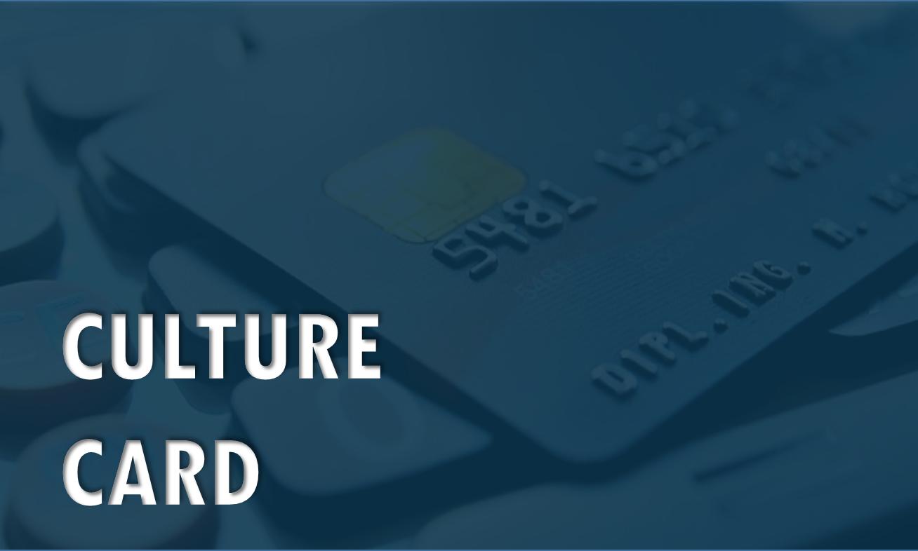 Culture Card