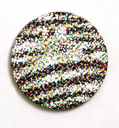 Voyage of the Damned II – Original Round Abstract Painting