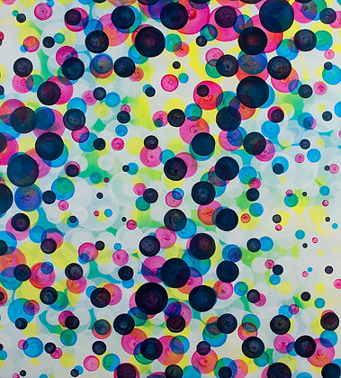 Immersion IV - Large Original Dot Painting
