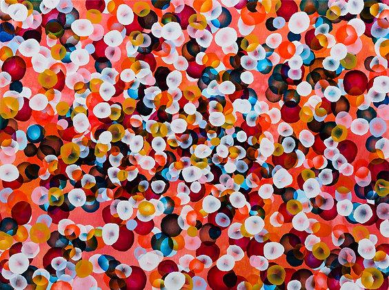 Vitae Colour Field XX , Large Original Painting