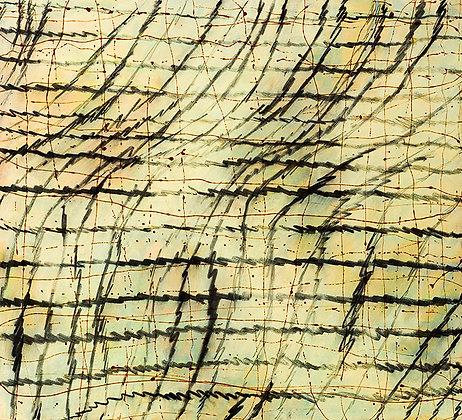 Random Precision II - Large Original Painting 102cm x 112cm