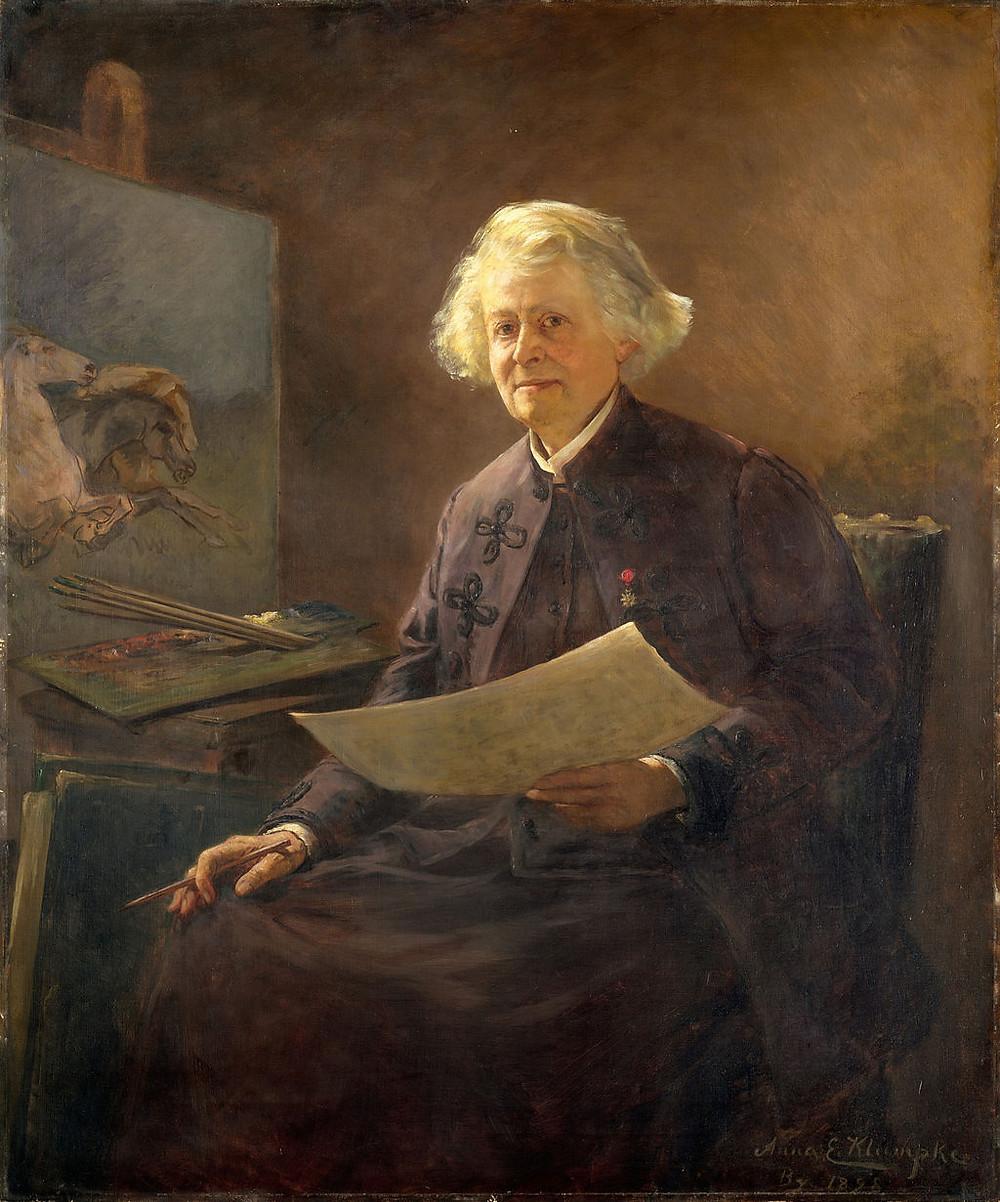 Rosa Bonheur portrait, Anna Klumpke