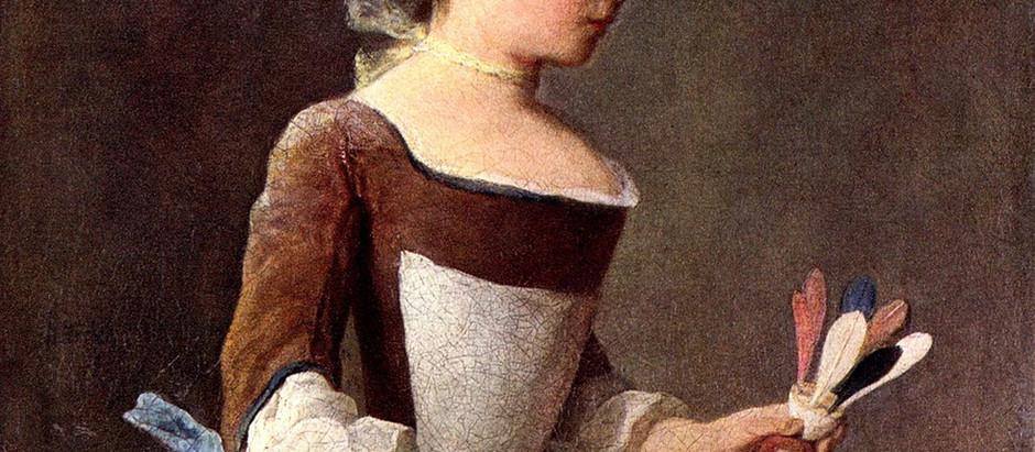 La fillette au volant : les vertus bourgeoises selon Chardin