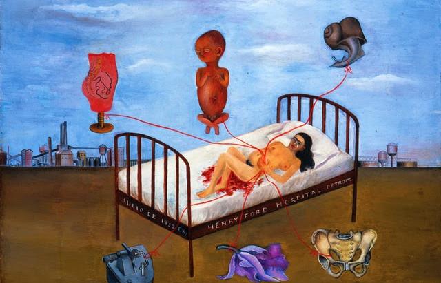 Frida Kahlo : un lit volant pour exprimer sa douleur