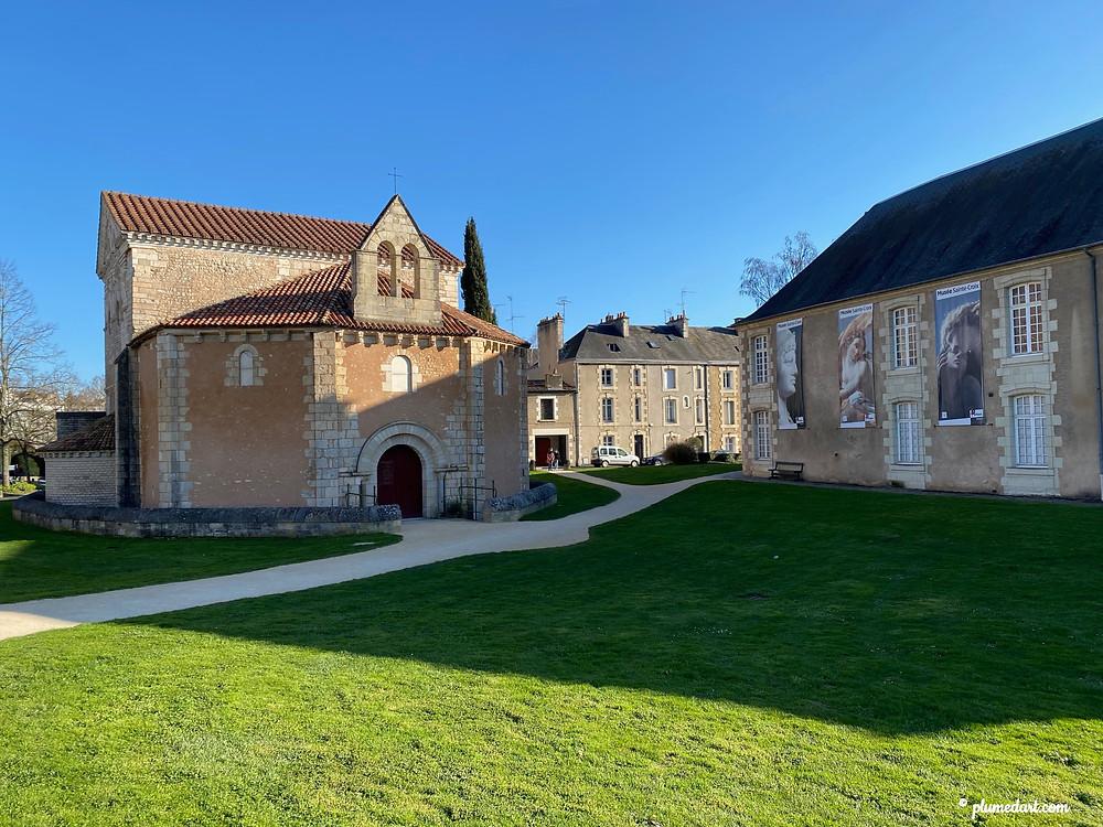 Baptistère Saint-Jean, Poitiers, architecture paléochrétienne, musée Sainte-Croix