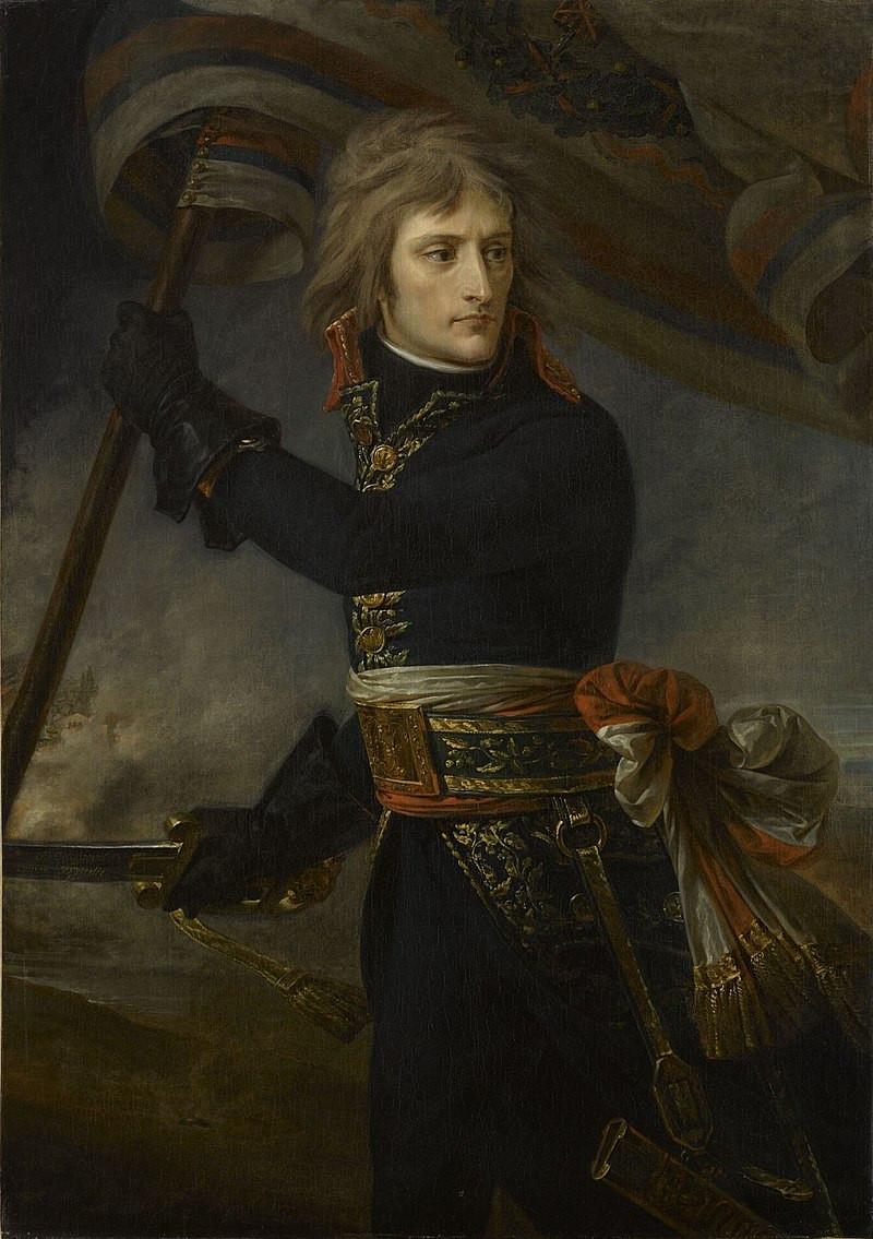 Bonaparte au pont d'Arcole, 1796, Antoine Jean Gros