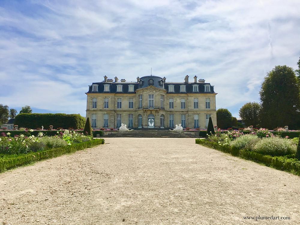 Champs sur Marne, château, Ile de France, jardin à la française, Pierre Bullet, architecture française, patrimoine