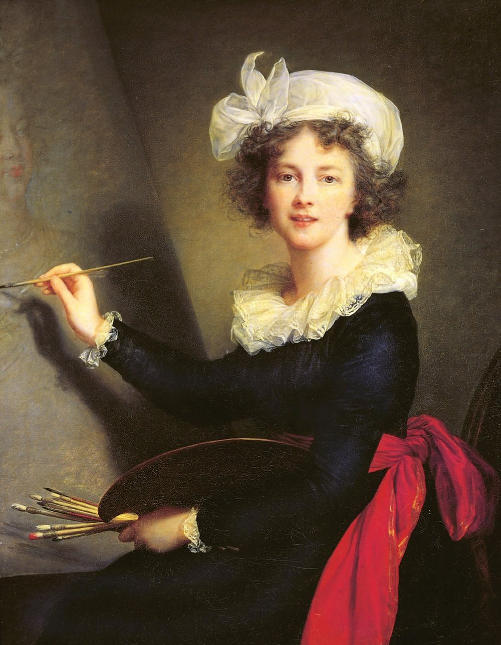 Elisabeth Vigée Lebrun, Autoportrait