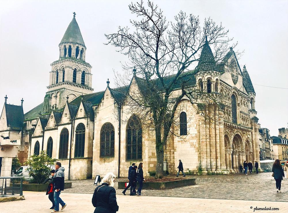 art roman, église Notre-Dame la Grande, Poitiers