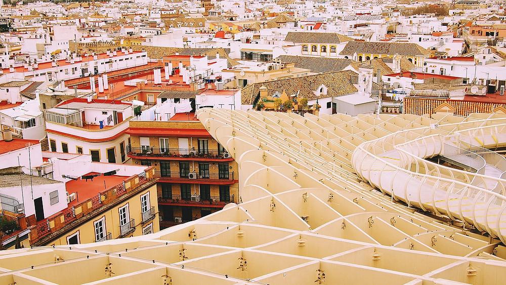 Metropol Parasol, Séville, Espagne, Andalousie