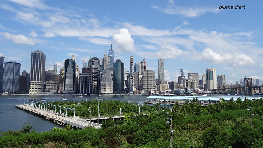 New-York, Manhattan, Brooklyn, skyline, gratte-ciel, building