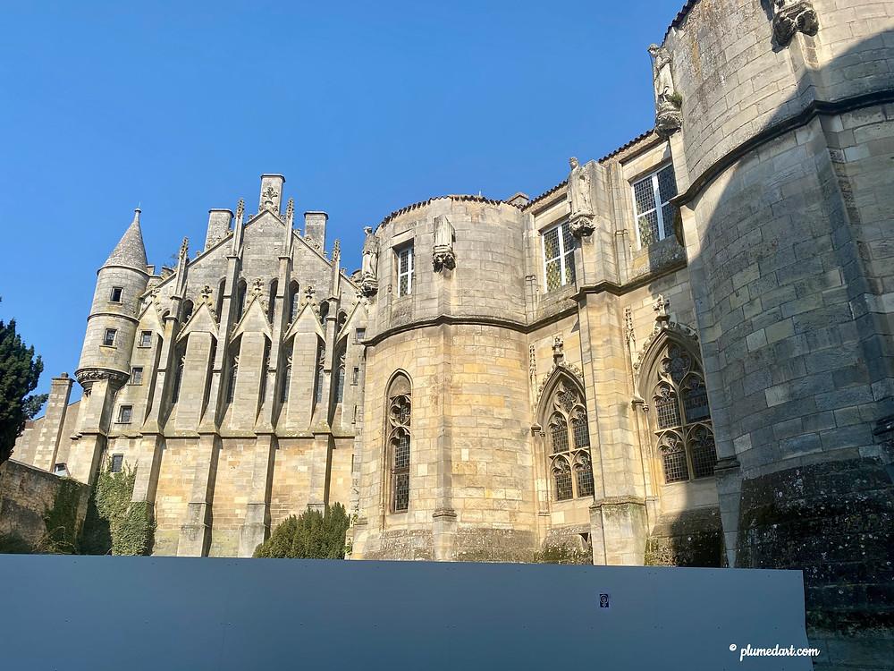 palais des comtes du Poitou Poitiers Aliénor d'Aquitaine