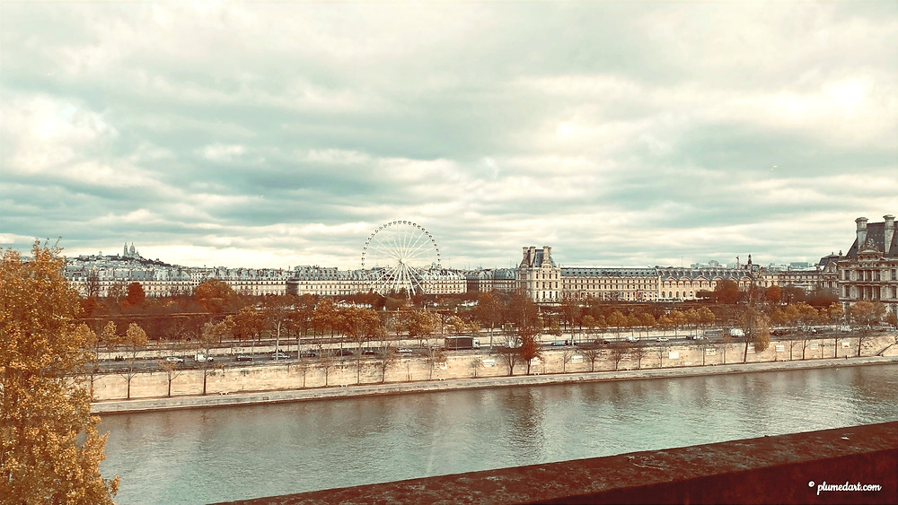 Paris, panorama, Musée du Louvre, Musée d'Orsay, Montmartre, Eglise du Sacré-Coeur