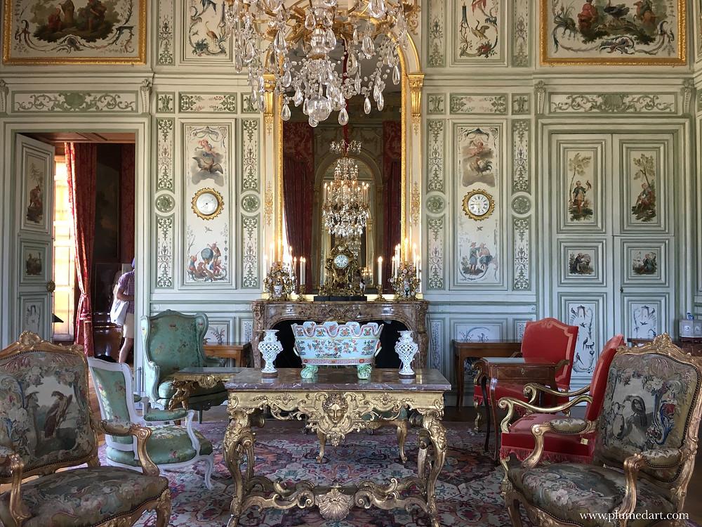 Champs sur Marne, château Ile de France, salon d'apparat, tourisme, patrimoine