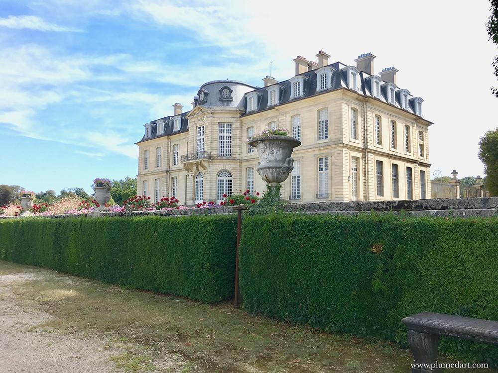 Champs sur Marne, château Ile de France, tourisme, Pierre Bullet, jardin à la française, architecture, patrimoine,
