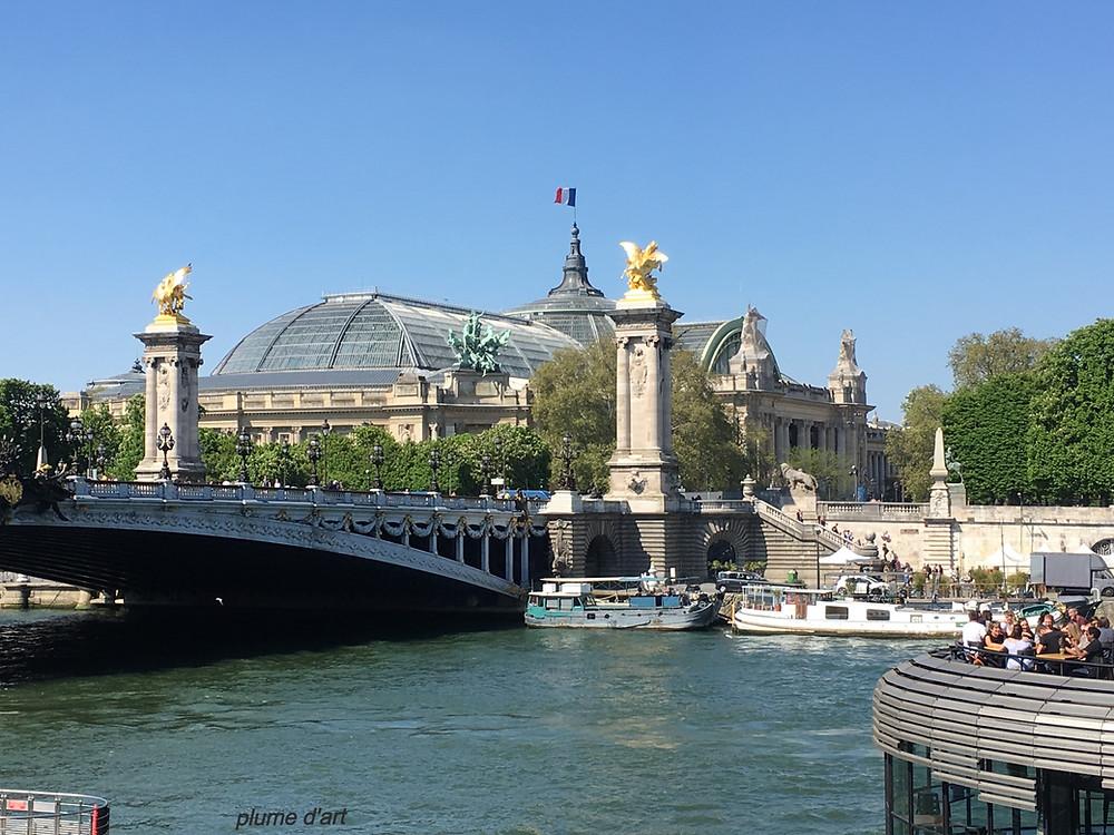 Grand palais, Paris, pont Alexandre III, exposition universelle, quais de Seine