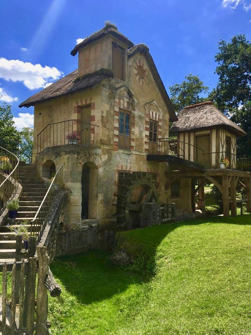 hameau de la reine, Richard Mique, domaine de Marie-Antoinette, Louis XVI, château de Versailles, Trianon