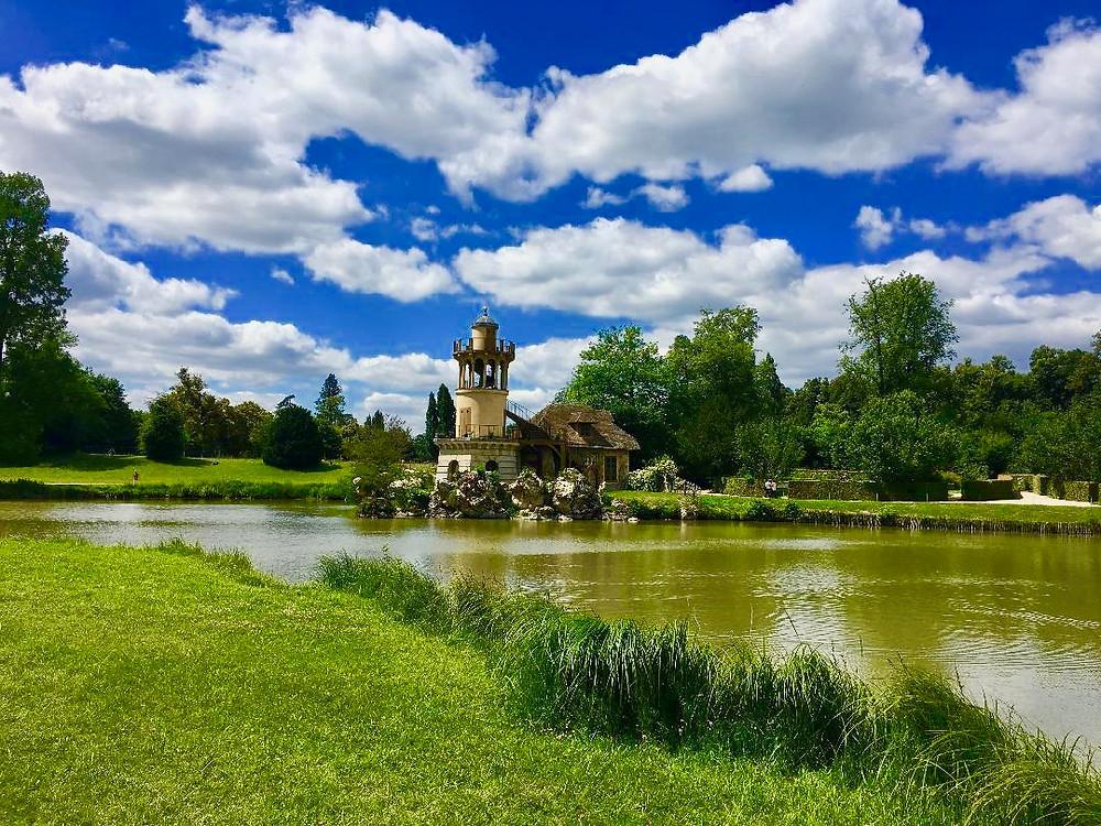 Richard Mique, hameau de la reine, domaine de Marie-Antoinette, château de Versailles, Louis XVI