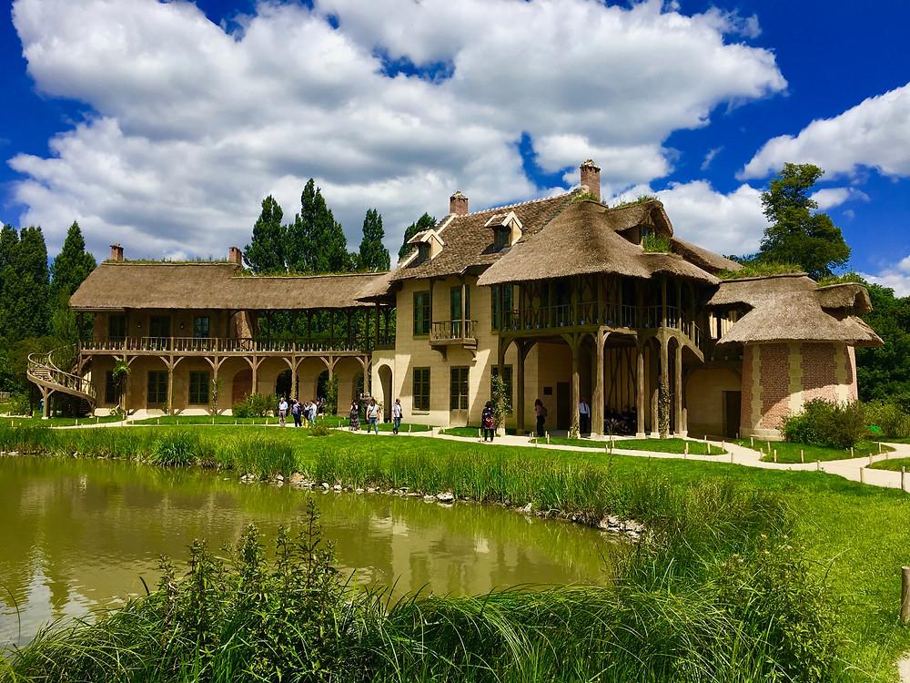 Hameau de la reine, château de Versailles, Trianon, domaine de Marie-Antoinette, Louis XVI, Richard Mique