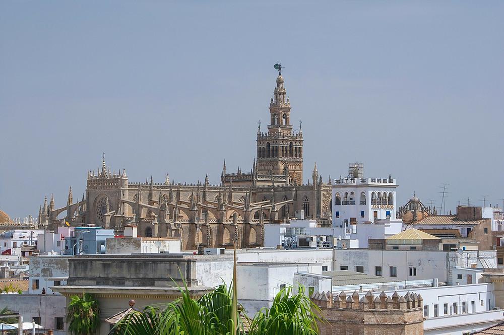 Cathédrale, Séville, Giralda, Minaret, mosquée