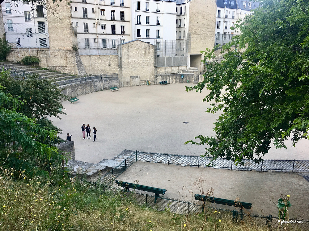 Les Arènes de Lutèce, Paris, visiter Paris, Antiquité, plus vieux monument de Paris