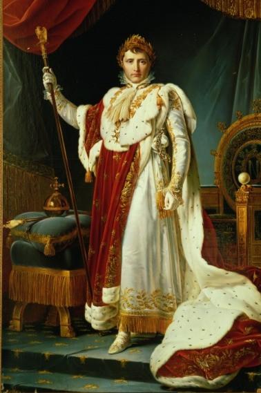 Napoléon Ier en costume de sacre, baron Gérard