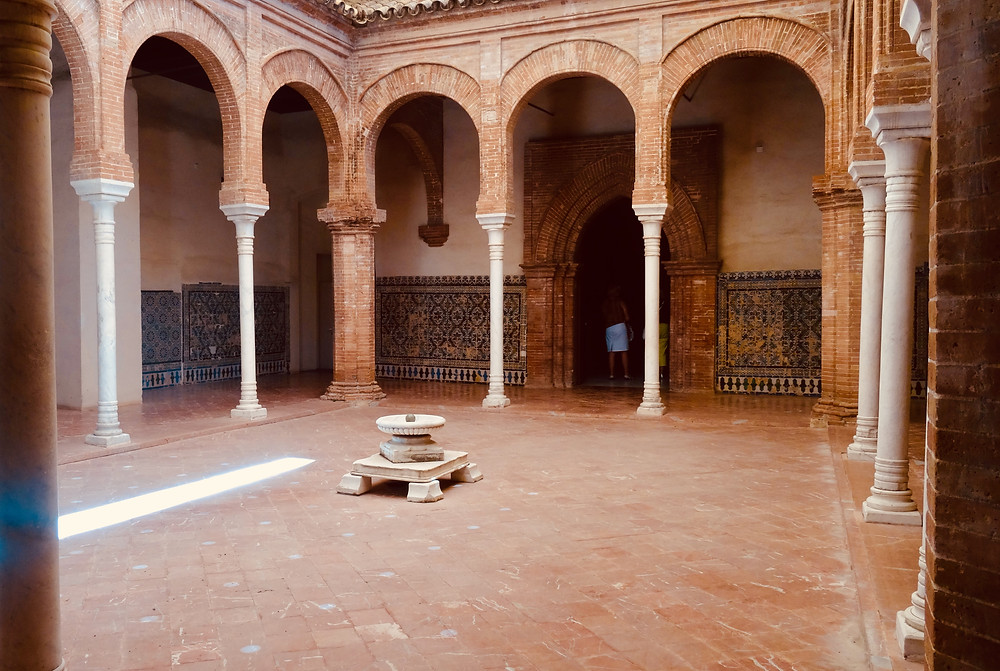 Monastère de la Cartuja, Séville, cloitre, fabrique de faience, Espagne, Andalousie
