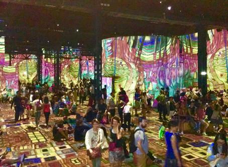 L'Atelier des Lumières, plongez-vous au coeur des oeuvres de Gustave Klimt