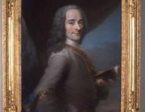 Voltaire dans les arts : un philosophe en trois portraits