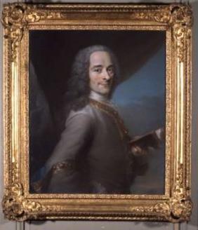portrait de Voltaire, Maurice Quentin de la Tour, Ferney-Voltaire, château de Voltaire, pastel, siècle des Lumières, philosophe