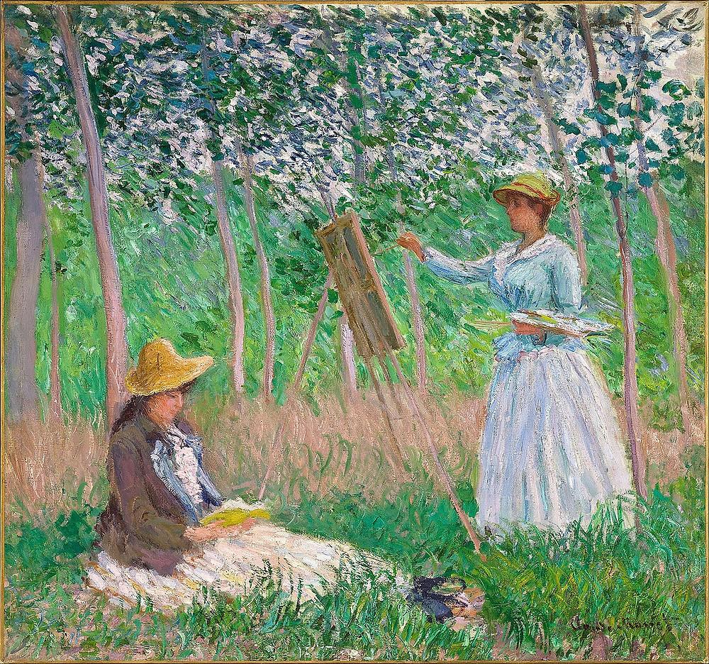 portrait de Blanche Hoschedé, Claude Monet
