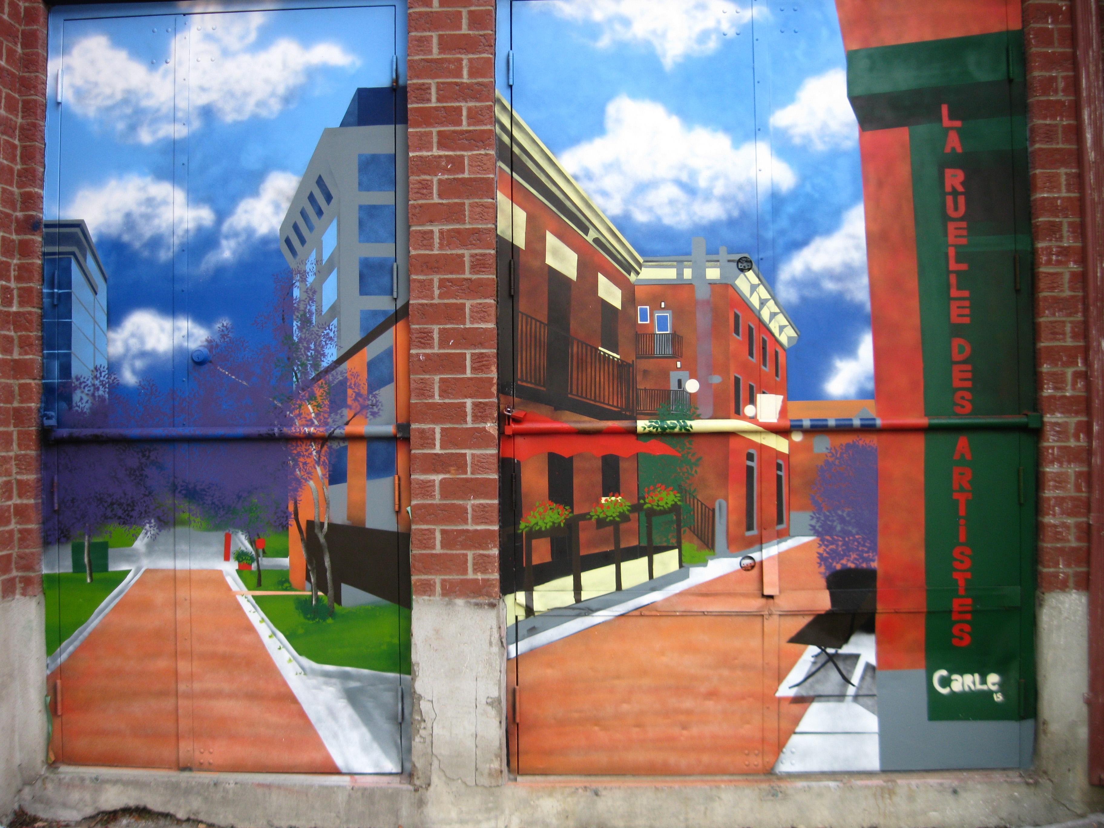 Carle amyot, la ruelle des artistes5