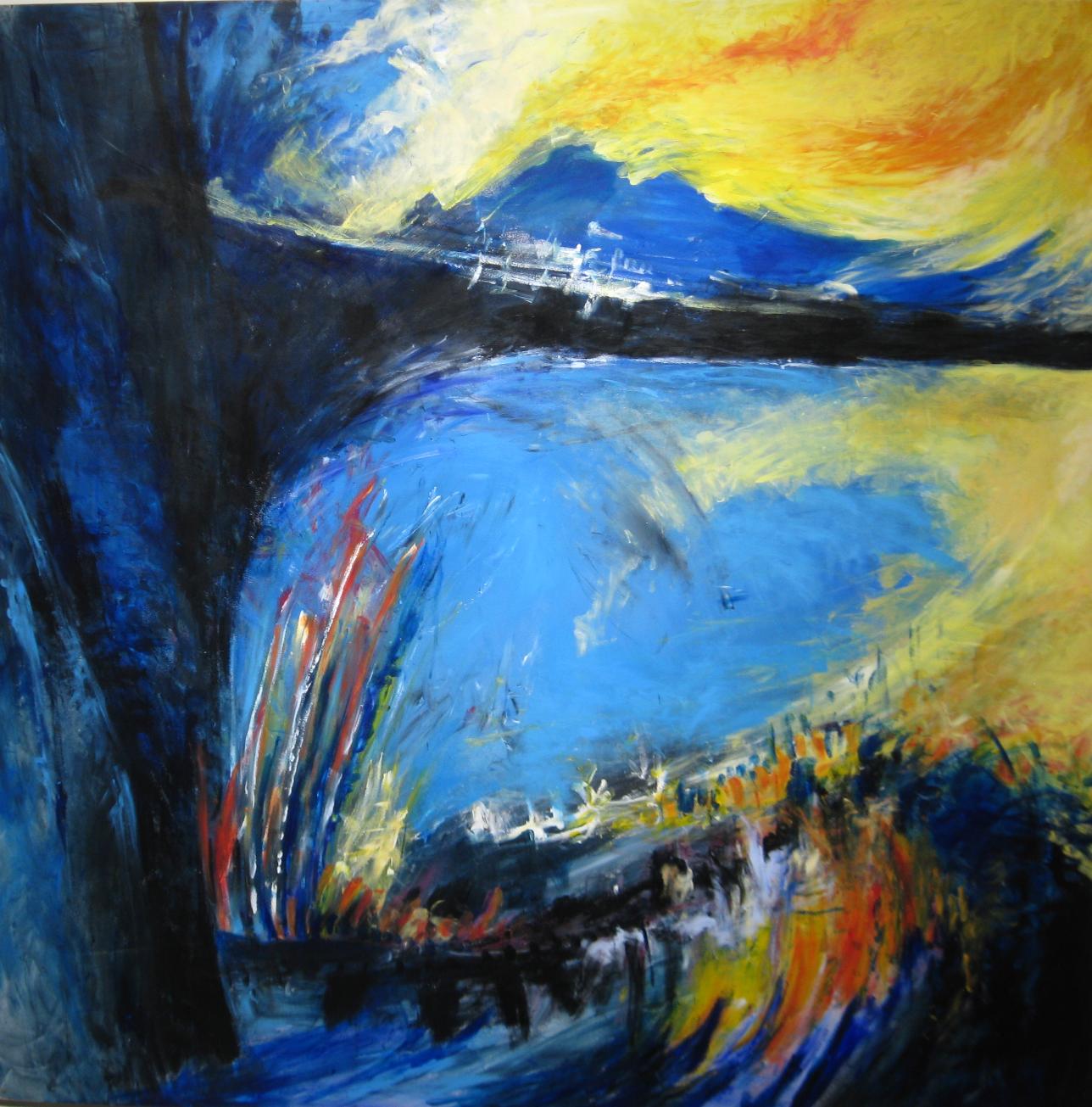 Carle amyot, Le coeur du paysage