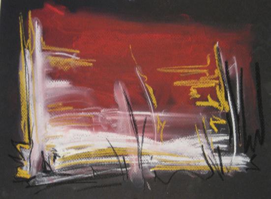 Carle Amyot, Horizon rouge-ocre