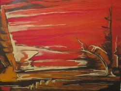 Carle Amyot, Paysage chaud