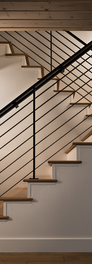 Stairs and Railing