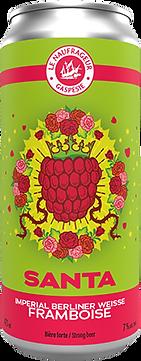 Le Naufrageur    Santa   Imperial Berliner Weisse Framboise