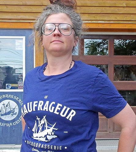 T-shirt unisexe bateau