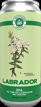 Le Naufrageur | Labrador | IPA au thé du Labrador bio