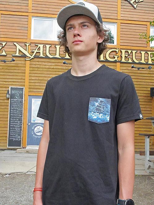 T-shirt poche Carrick